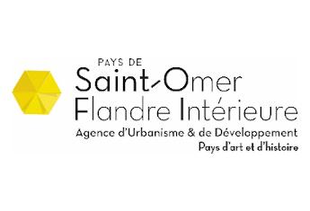 Logo de l'agence d'urbanisme et de développement Pays de Saint-Omer - Flandre intérieure