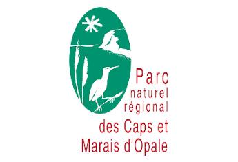 Logo du Parc Naturel Régional des Caps et Marais d'Opale