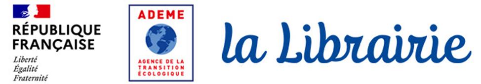 Titre et logo représentant la librairei et l'ADEME