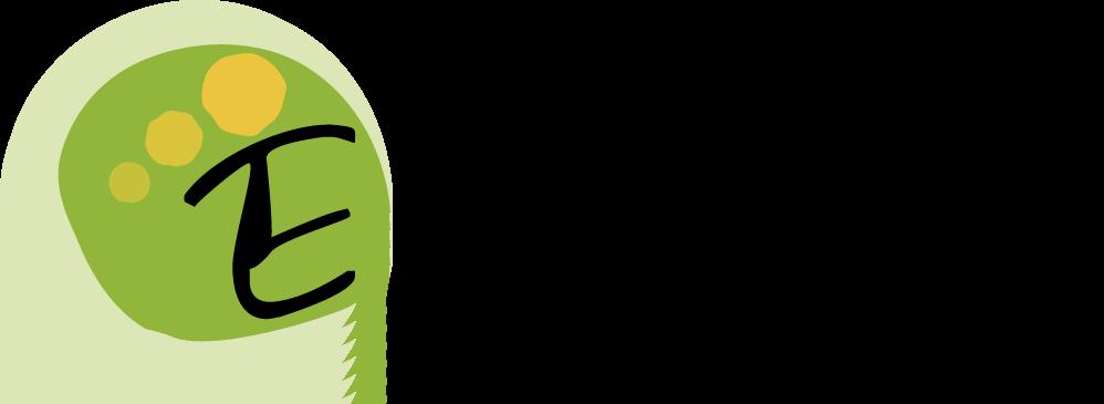 Logo EnergEthic avec cercles vert et jaune